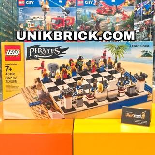 [HÀNG CÓ SẴN] Lego UNIK BRICK 40158 Pirates Chess Set – Bộ Cờ vua Cướp biển chính hãng (như hình)