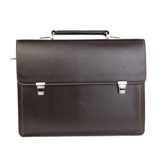 Túi xách cặp da đựng laptop hồ sơ công sở T26 40x30x7.5cm (Da bò – Đen)