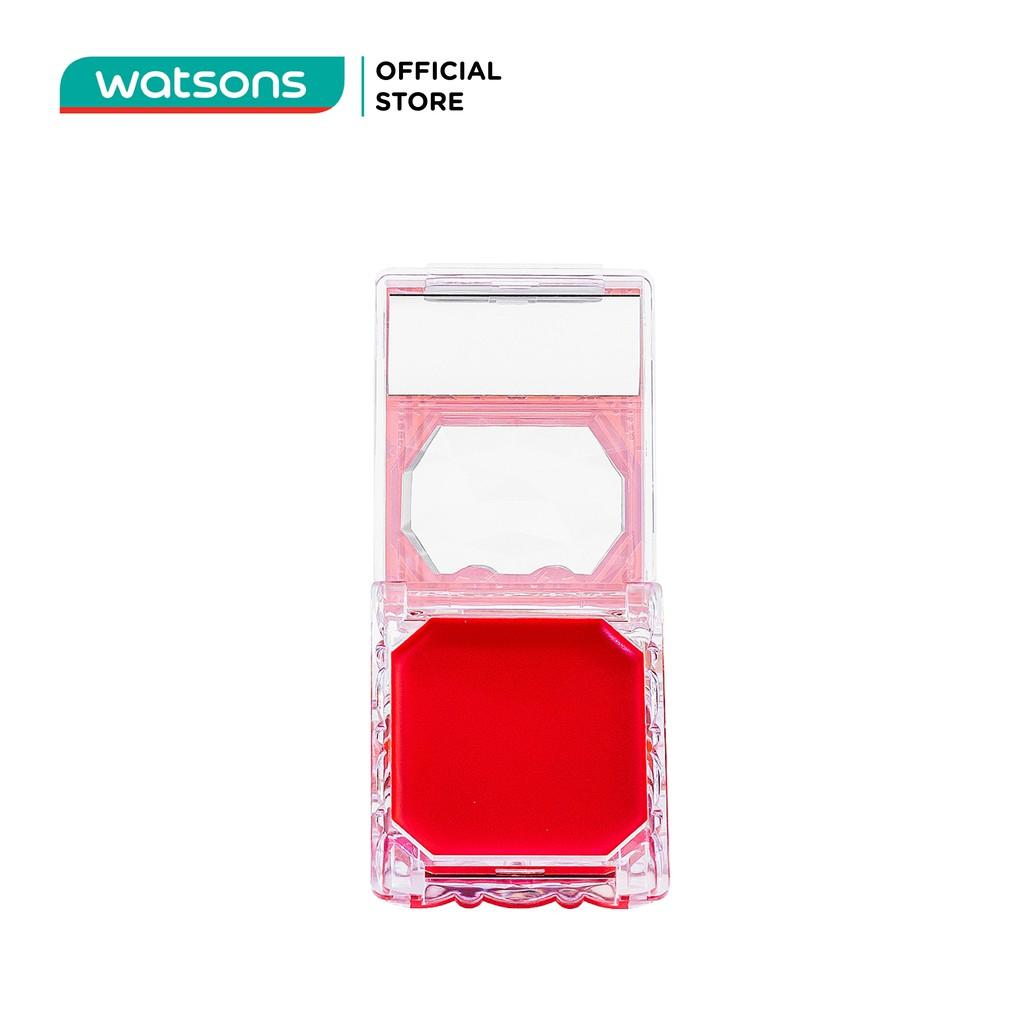 Son Môi Và Má Hồng Canmake Lip & Cheek Gel 1.5g.#01 Strawberry Mouse