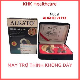 Máy trợ thính không dây đeo vành tai Model Alkato VT113 thumbnail