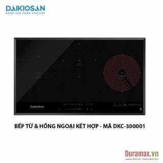 Bếp kết hợp từ và hồng ngoại Daikiosan DKC-300001 - 3 vùng nấu lắp âm