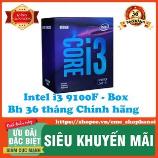 CPU Intel Core i3-9100F Processor (6M Cache, up to 4.20 GHz)