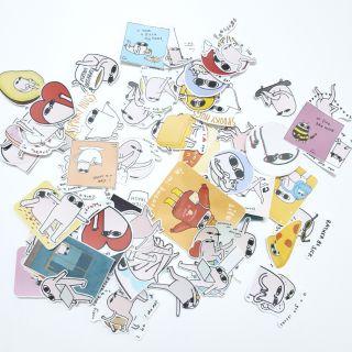 Sticker nhám Ketnipz dán trang trí planer, scrapbook,….size nhỏ 3-5cm