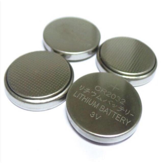 Pin CR2032 dùng cho đèn đom đóm loại đồng xu