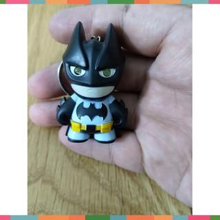 SieuRe247 – Đồ chơi móc khóa hình Batman có đèn pin [ LKĐT 4 ]