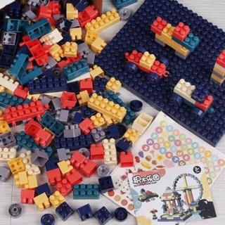 Bộ Lego 520 chi tiết giúo bé yêu phát triển tư duy toàn diện
