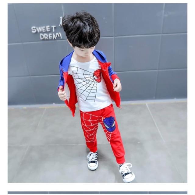 Set siêu nhân cho bé trai
