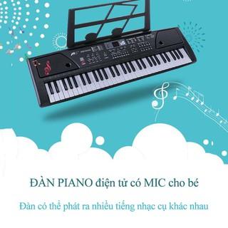 ĐÀN PIANO điện tử có MIC cho bé – Đàn piano cho bé học chơi đàn MS-6102 KL1