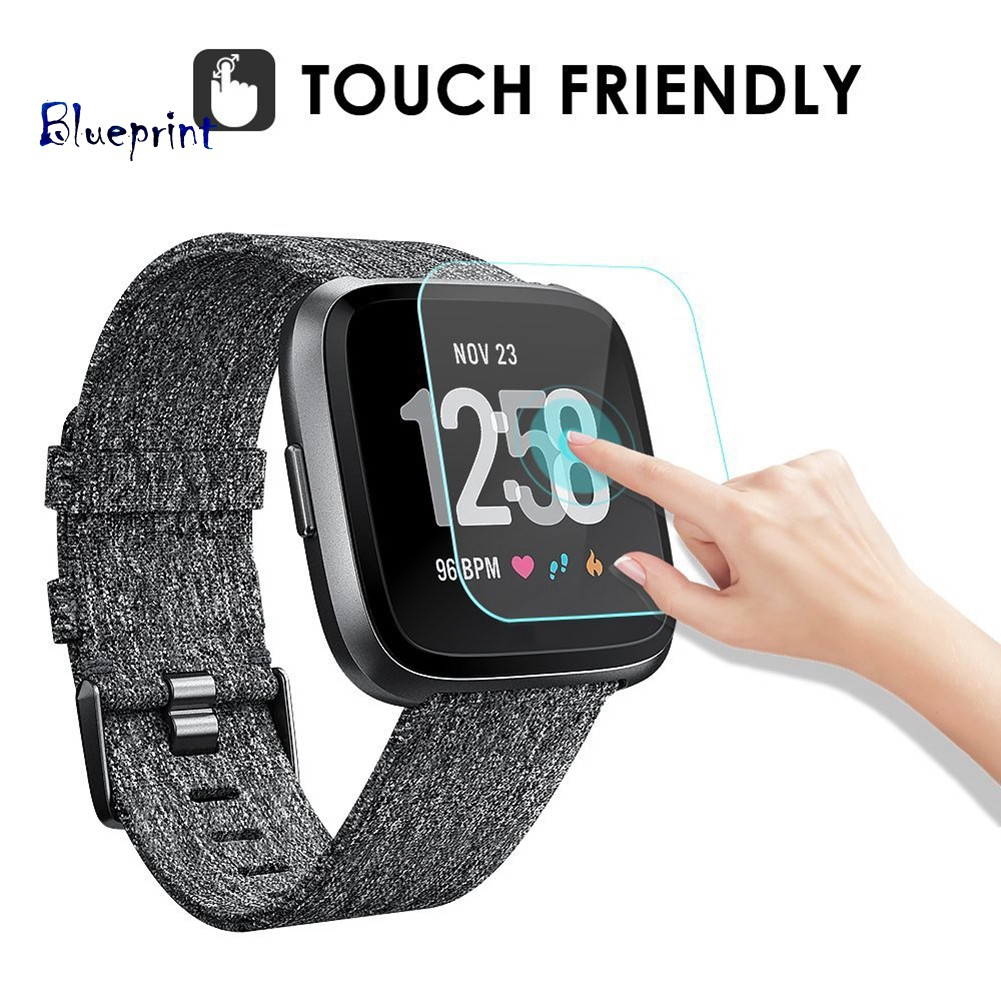 ☞BPHD Tempered Glass LCD Screen Protector Film For Fitbit Versa Sports Smart Watch