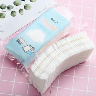 Bông tẩy trang 3 lớp 2 mặt Cotton Pads 50 miếng