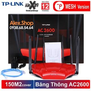 [MESH VERSION] TP-Link 2600M WDR8690 Thiết Bị Phát Wifi 8 Râu 150m2 1 thiết bị- BH 12T