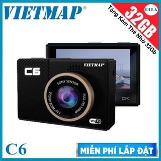 [Hỗ Trợ Lắp Đặt] Camera hành trình Vietmap C6 – Kèm Thẻ Nhớ 32GB