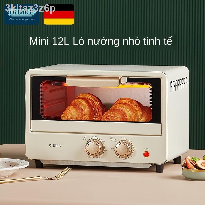 ✔❁✁Lò nướng điện OIDIRE của Đức Máy nướng bánh nhỏ gia đình đa chức năng Hấp và nướng lò nướng nhỏ tự động mini
