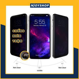 [ĐÃ CÓ 12 PRO MAX] KÍNH CƯỜNG LỰC IPHONE CHỐNG NHÌN TRỘM FULL VIỀN 7 PLUS 8 PLUS X XR XS MAX 11 PROMAX thumbnail