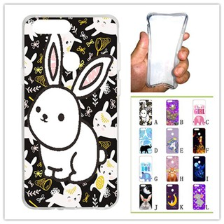 For OPPO R11S plus White Rabbit Soft Silicon Case