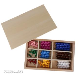 Creative Colorful Beads Preschool Educational Counting Training Maths Tool Toy