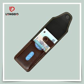 [ĐẲNG CẤP] Ví Sen 5 - Ví Mini Màu Chocolate - Cam Kết Da Thật 100% - Sản Phẩm Chính Hãng thumbnail