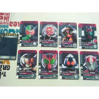 Card Advant Ryuki,W,WIZARD,GHOST,DECADE,GAIM,OOO,FOUZE,DRIVER