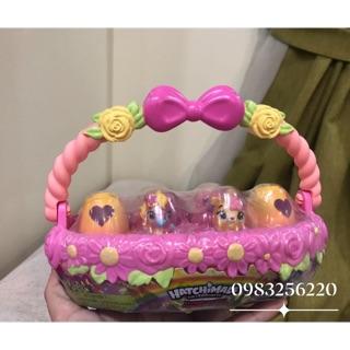 Hatchimals giỏ trứng mùa xuân – hàng Limited