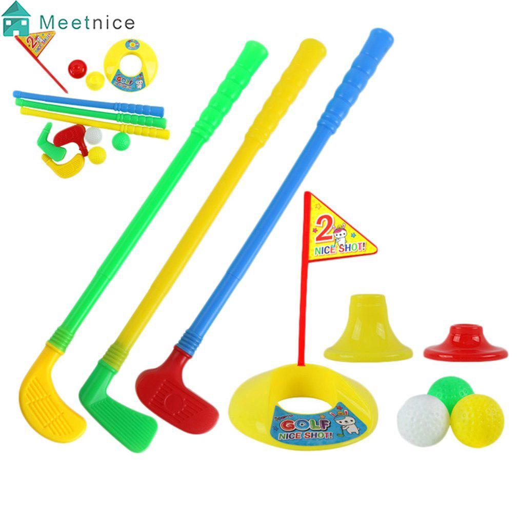 Outdoor Kids Golf Set Practice Clubs Game Junior Indoor Safe Children Toys Gift
