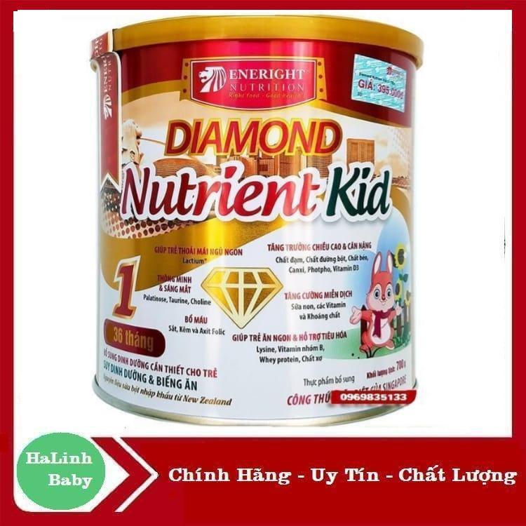 Sữa Diamond Nutrient kid số 1 và 2 700g ( Date Mới Nhất )..