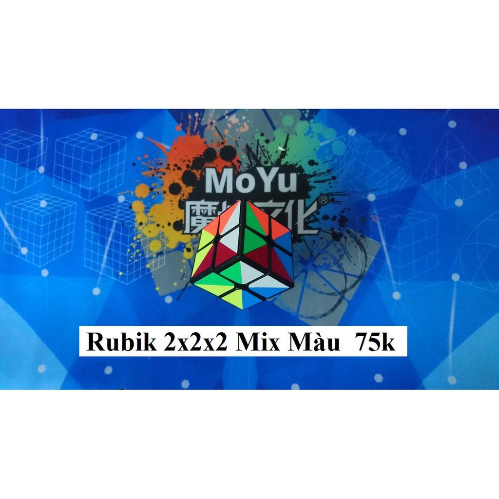 Rubik 2x2x2 Mix Màu