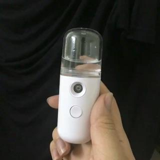 Máy xông mặt - xịt khoáng Nano mini cầm tay