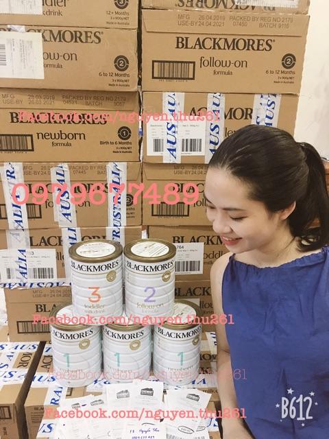 Sữa BLACKMORE Úc số 1, số 2, số 3 900gr