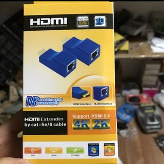 [CHÍNH HÃNG] Bộ chuyển đổi HDMI TO LAN 30m