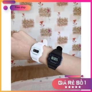[FLASH SALE] Đồng hồ điện tử unisex dây nhựa CA004 phối theo đồ rất đẹp MSPN