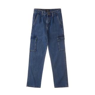 Usthebasic - Quần ống suông thời trang Jeans Cargo thumbnail