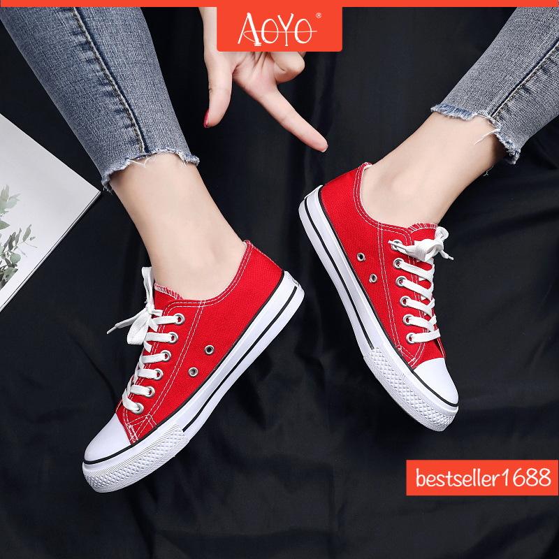 Giày Thể Thao Vải Canvas Thoáng Khí Thoải Mái Hợp Thời Trang Cho Nam