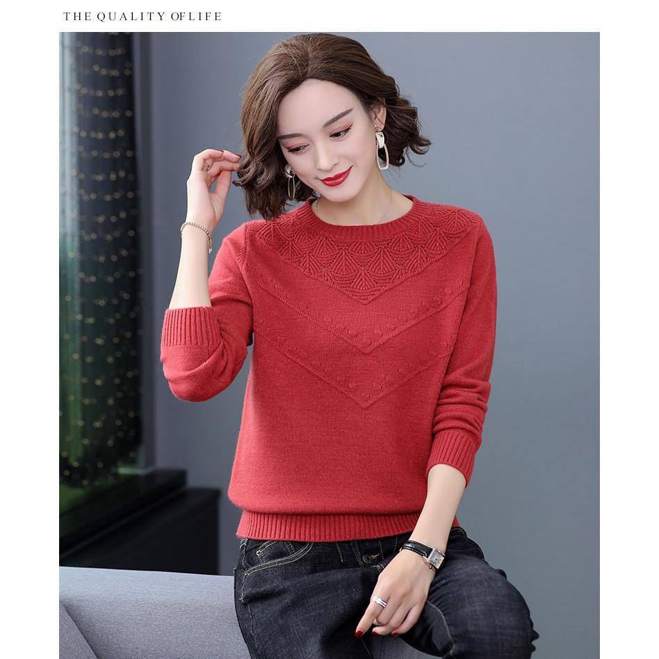 [NEW] Áo Len Quảng Châu Chất Xịn Giày Giặn - V0041