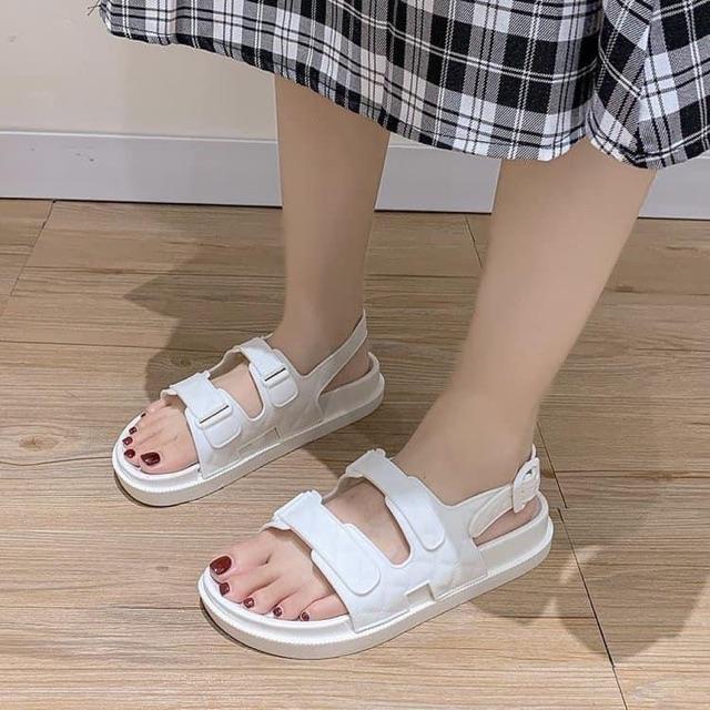 Sandal Đế Bánh Mì 2 quai
