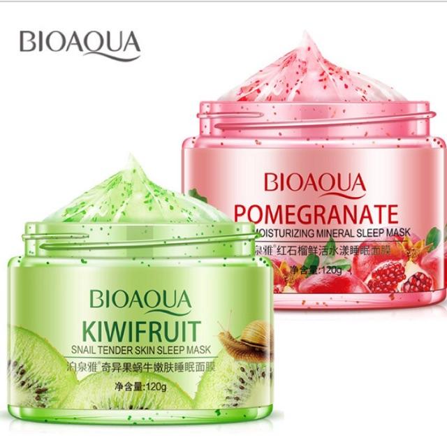 Một hộp mặt nạ ngủ hoa quả Bioaqua 120ml hàng nội địa Trung