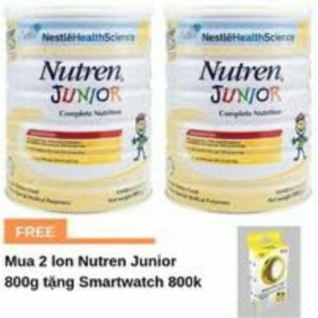Combo 2 Sữa Nutren Junior 800g nhập khẩu