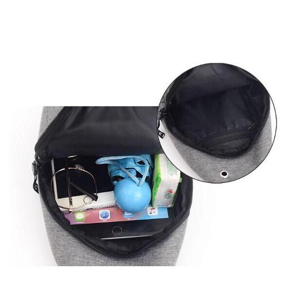 ❤️FREESHIP❤️ Túi Đeo Chéo Uniex Có Cổng Sạc USB, Tai Nghe - unisex.shopp