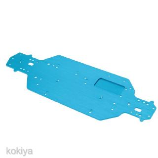 RC 1:10th On-Road Car Metal Chassis For HSP Model 03001 Blue