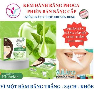 [Hàng chính hãng] Kem đánh răng trắng răng Phoca mẫu mới – Kem đánh răng cho người niềng răng, viêm lợi và sâu ới