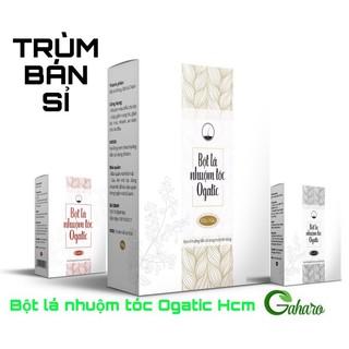 [HCM] Bột lá nhuộm tóc Ogatic 4 màu thumbnail