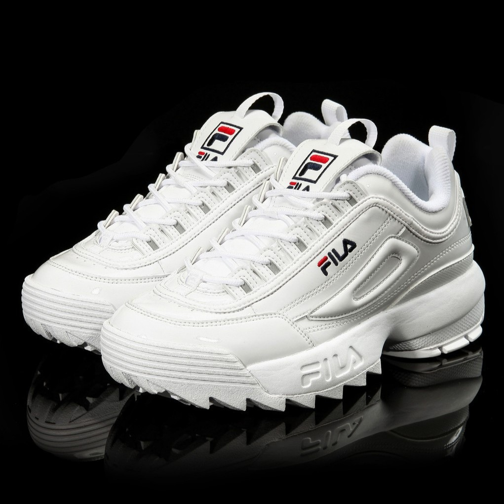 [FLASH SALE] Giày FILA trắng nam nữ
