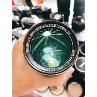 Ống kính MF Konica UC Zoom-Hexanon AR 80-200mm F4 thumbnail