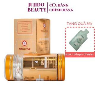 Viên Uống Trắng Da Tatio Active Gold Glutathione. thumbnail