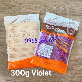 300g Sáp tẩy lông Hard wax beans Liddy Chính hãng Violet Hoa Lan Tím New siêu thơm