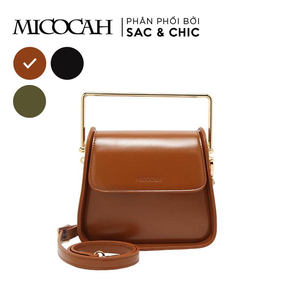 Túi Đeo Chéo Quai Kim Loại Vuông Micocah MCC-12