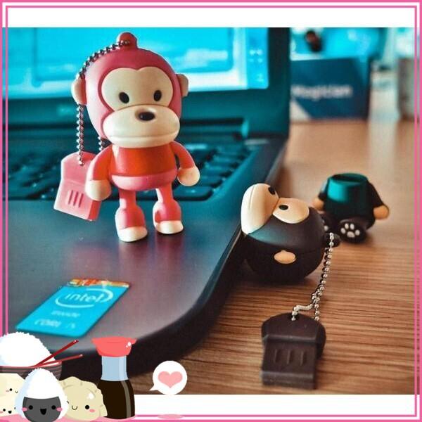 (Hót Hòn Họt) USB Dung Lượng 8GB Khỉ Hồng Giá chỉ 128.700₫