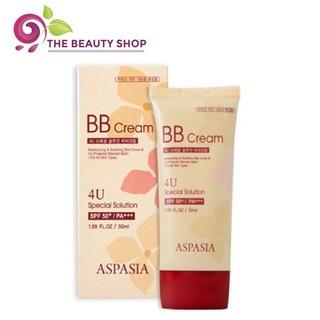Kem Nền Chống Nắng Aspasia 4U Special B.B Solution Cream SPF50 PA+++ thumbnail
