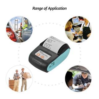 Máy in hóa đơn nhiệt Bluetooth hỗ trợ ios, android – tặng 5 cuộn giấy