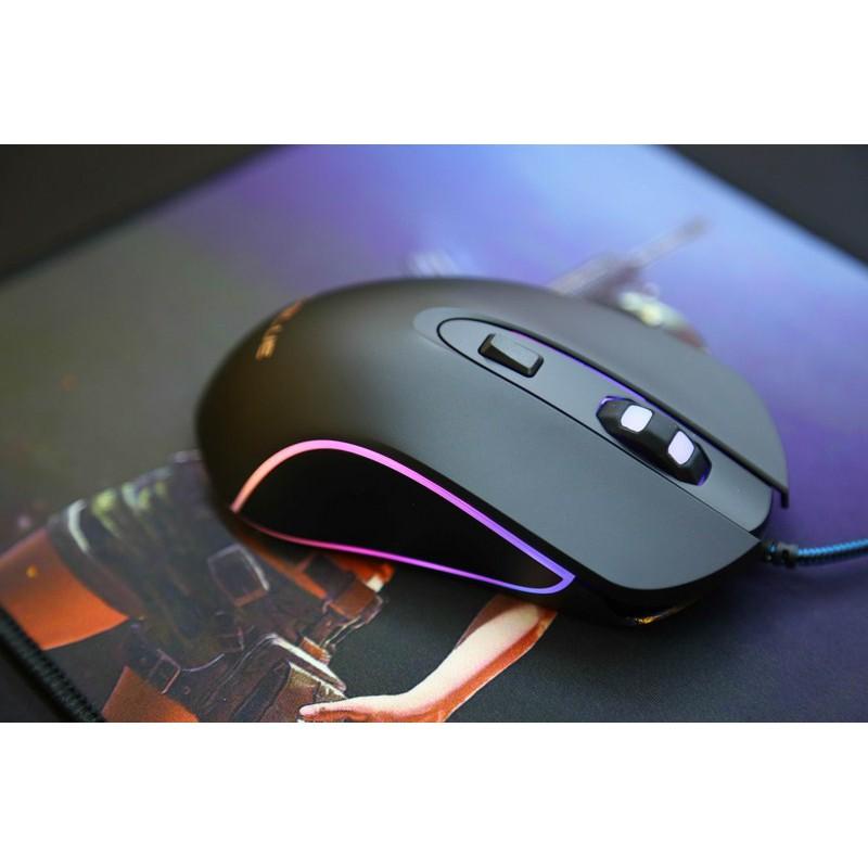Chuột E-BLUE EMS 667 LED RGB Gaming Mouse