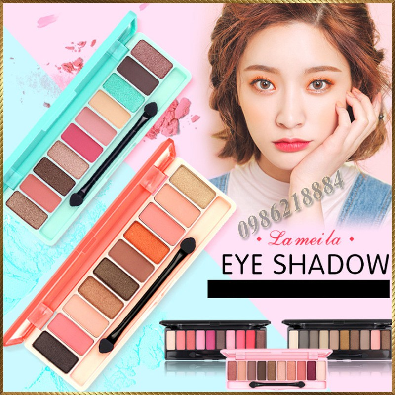 Bảng phấn mắt Play Color Eyes Lameila